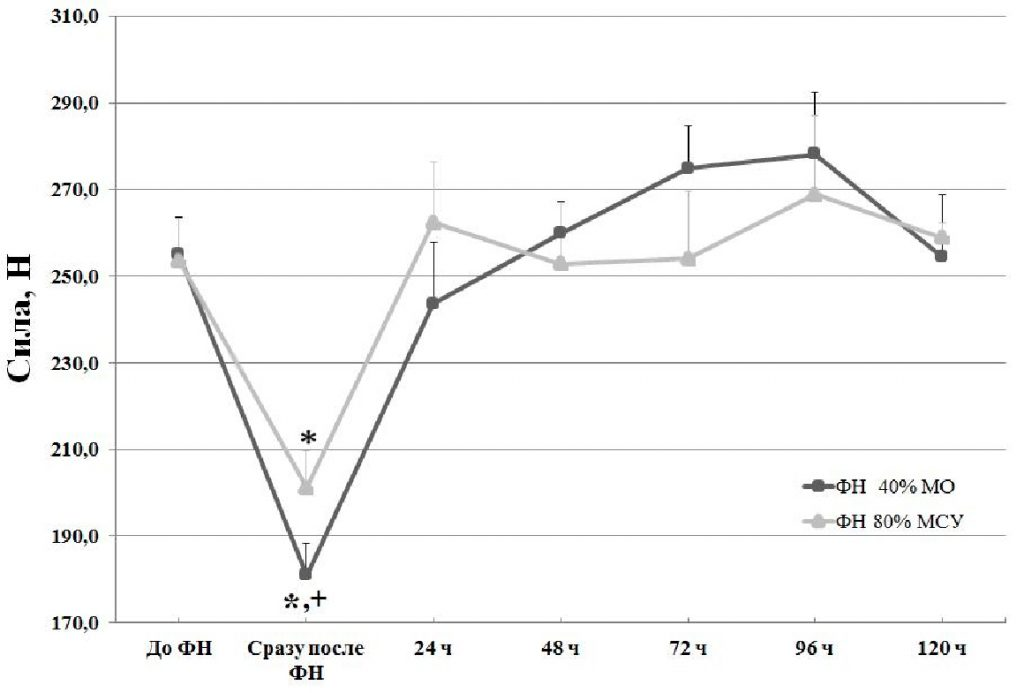 Кумулятивные тренировочные эффекты воздействия различных методов силовой тренировки