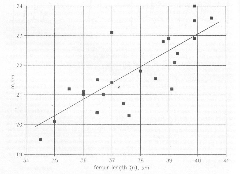 Anatomical Data for Biomechanical Calculation