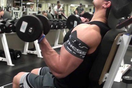 Миниатюра для записи Ишемическая силовая тренировка: альтернатива с небольшими отягощениями тяжелой силовой тренировке с отягощениями